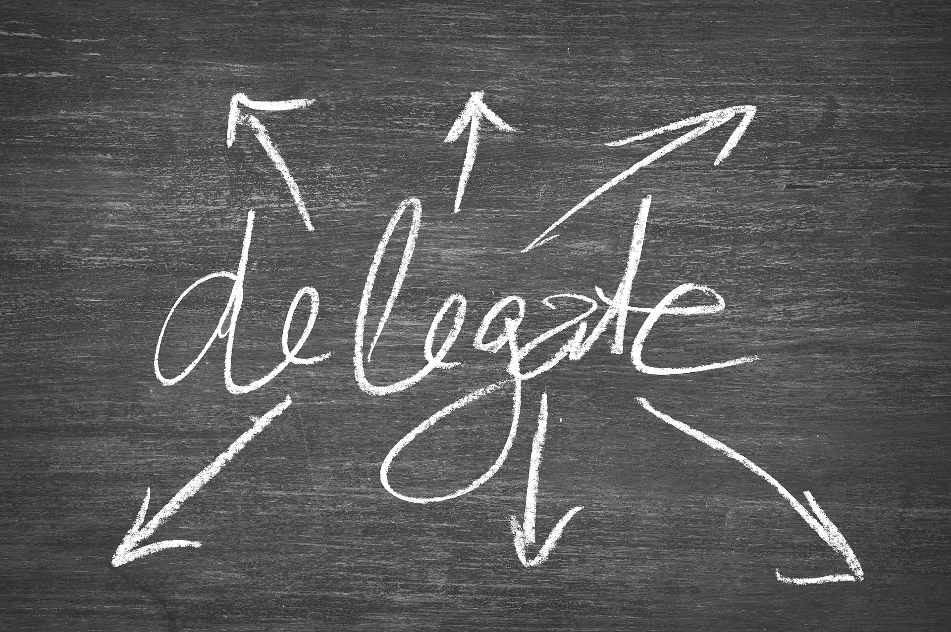 delegate in a small business