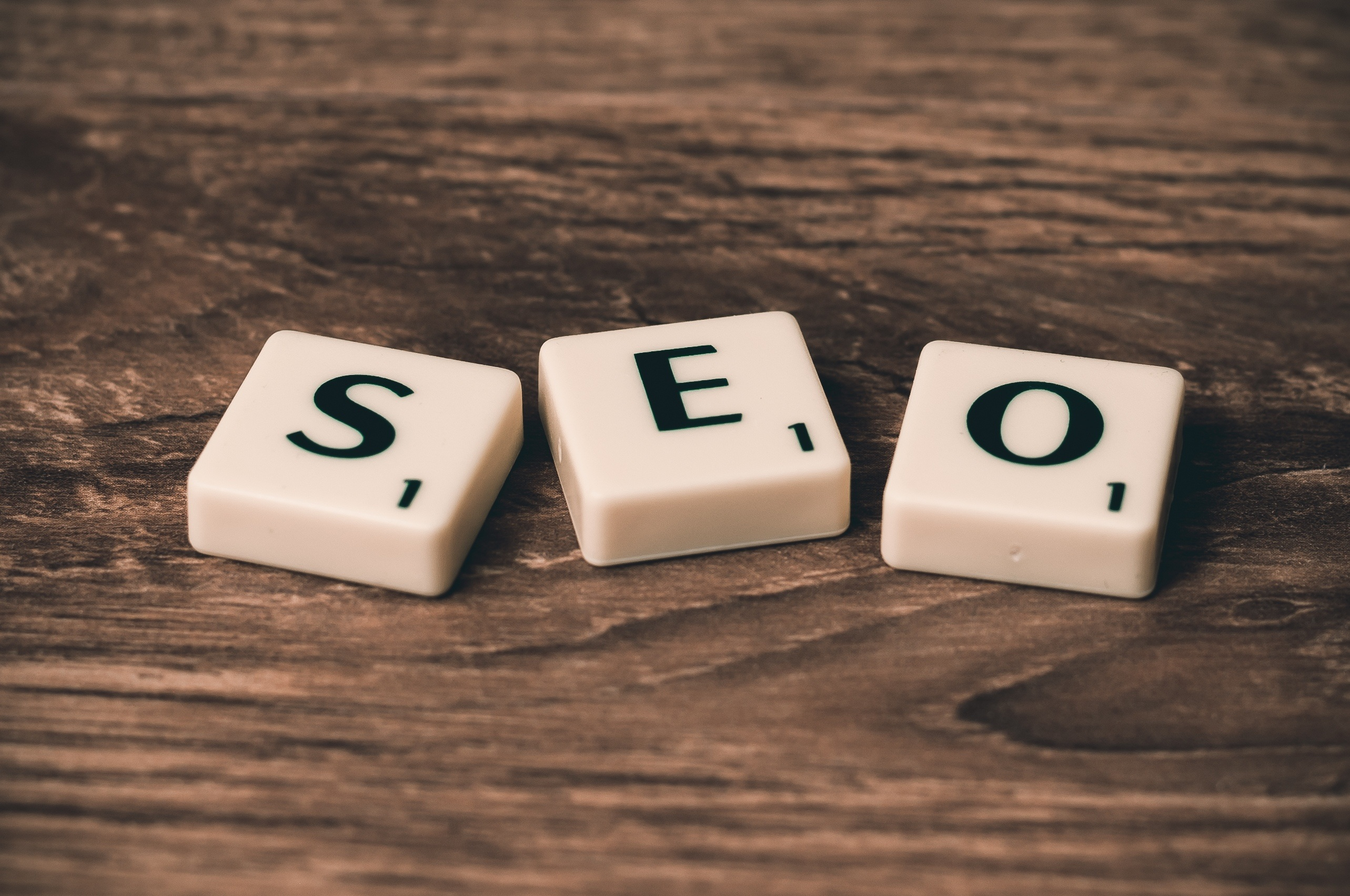 SEO for small business - S E O letter blocks