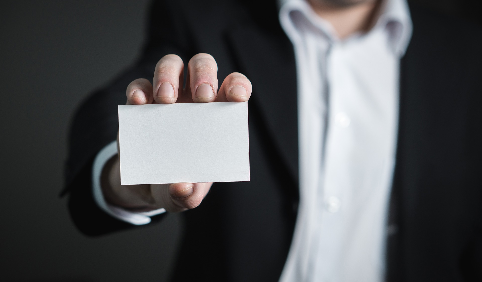 right impression with business cards