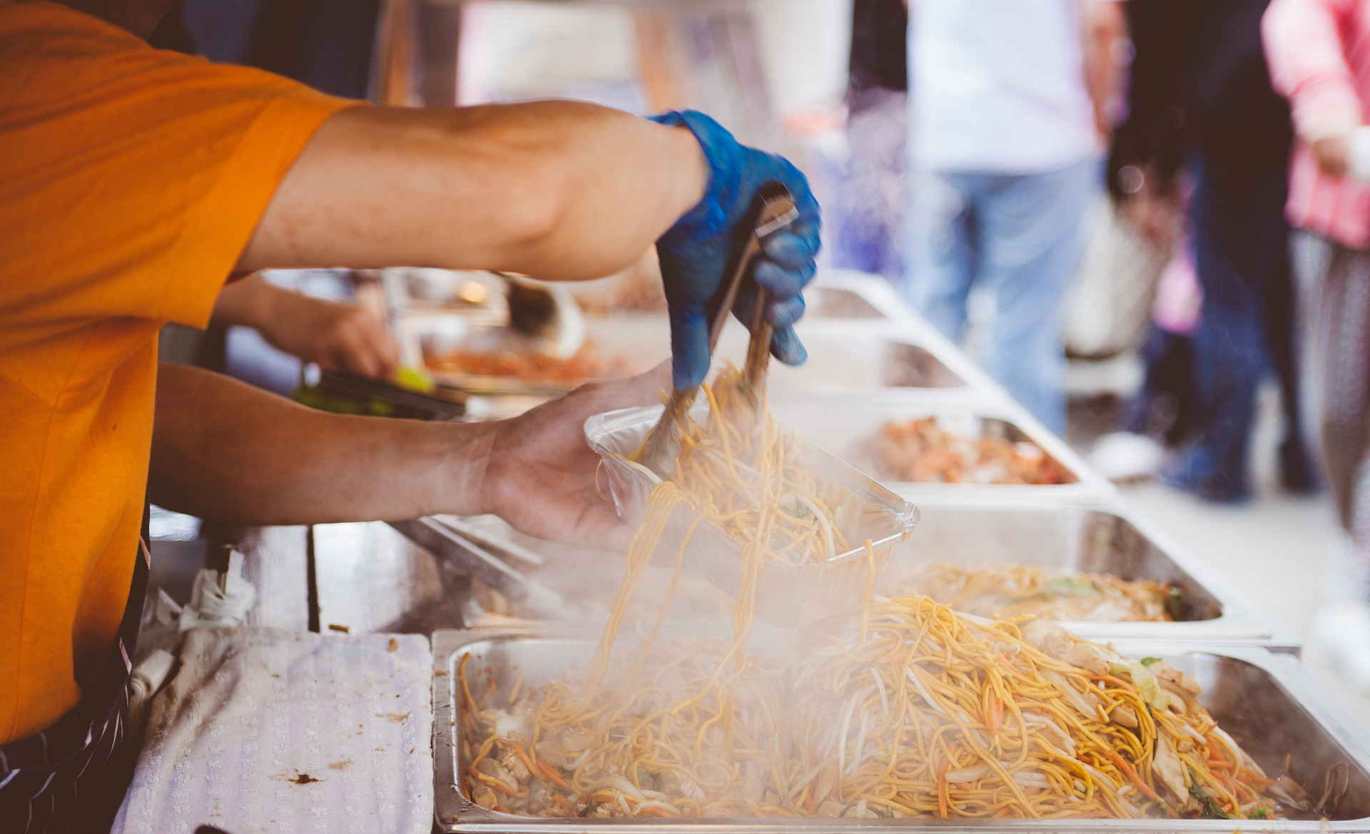 start a street food business